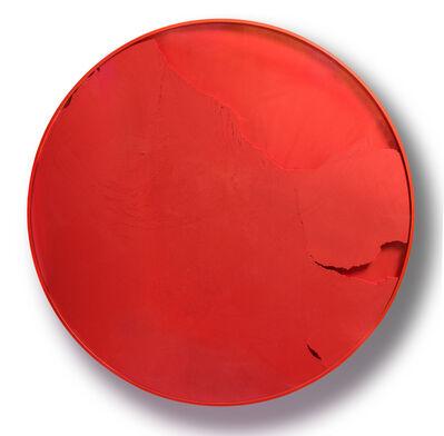 Manuel Merida, 'Cercle Vermillon (Manuchrome Primaire)', 2015