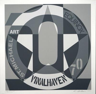 Robert Indiana, 'DECADE: Vinalhaven Suite Autoportrait #0: VINALHAVEN', 1980