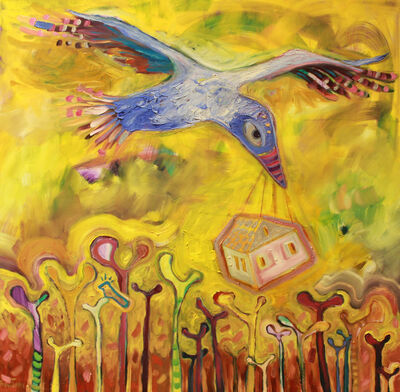 Wendy Bantam, 'The Blue Bird Makes a Home', 2014