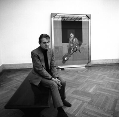 Harry Benson, 'Francis Bacon at the Metropolitan Museum of Art, New York', 1975
