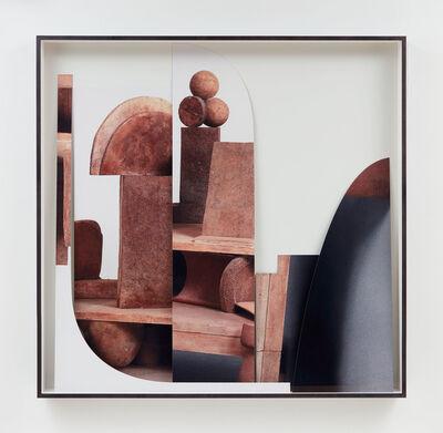 Erin Shirreff, 'Four-color café terrace (Caro, –––––, Moorehouse, Matisse)', 2019