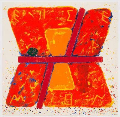 Joe Tilson RA, 'The Homeric Hymn to Hermes', 1992