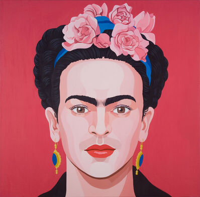 Giuseppe Veneziano, 'Frida Kahlo', 2014
