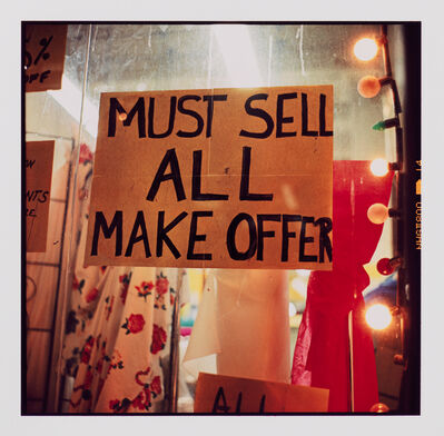 Zoe Leonard, 'MUST SELL ALL', 2000-2006