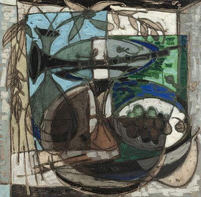 Claude Venard, 'Abstract still life', 1955
