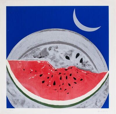Franco Angeli, 'Watermelon'