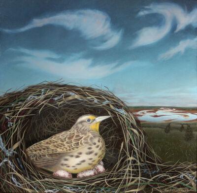 Karl Hartman, 'Sleeping Meadowlark', 2017