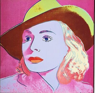 Andy Warhol, 'Ingrid Bergman ', 1987