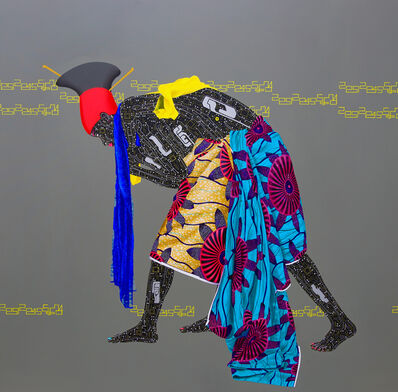 Eddy Kamuanga Ilunga, 'No identity, no evolution  ', 2015