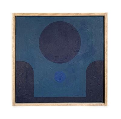 Carla Weeks, 'Monochrome Study in Blue 4', 2020