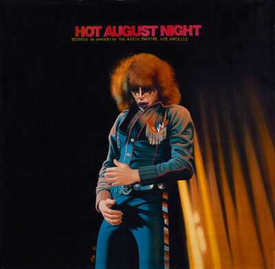 Panik Collective, 'Hot August Night (KISS)', 2014