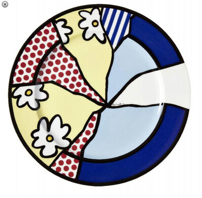 Roy Lichtenstein, 'Broken Flowers', 1996