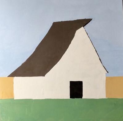 Sandra Pratt, 'White Barn', 2021