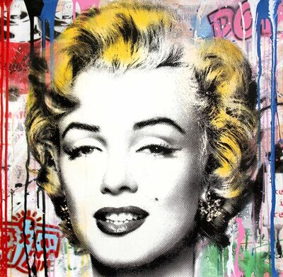 Mr. Brainwash, 'Marilyn ', 2017
