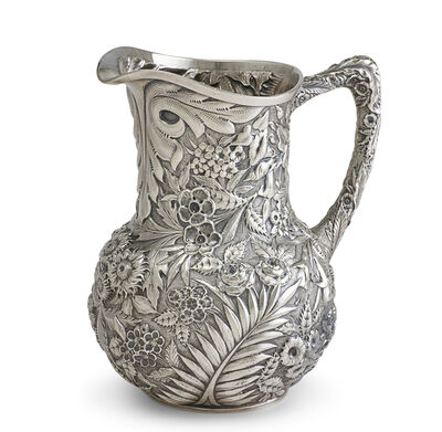 S. Kirk & Son, 'Samuel Kirk & Son Coin Silver Water Pitcher', ca. 1850