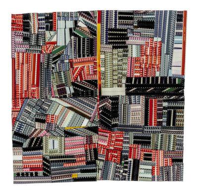 Sabrina Gschwandtner, 'Hands at Work Crazy Quilt (For Roderick Kiracofe)', 2017