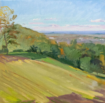 John Kelly, 'Towards Hudson From Olana', 2018