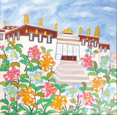 Tsering Drolma 次仁卓玛, 'Landscape 4 《风景 4》', 2017
