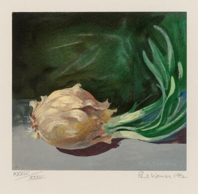 Paul Wonner, 'Still Life (Onion)', 1992