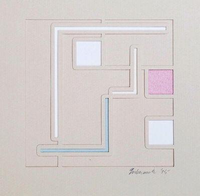 Richard Gubernick, 'Untitled Geometric Abstraction', 1975