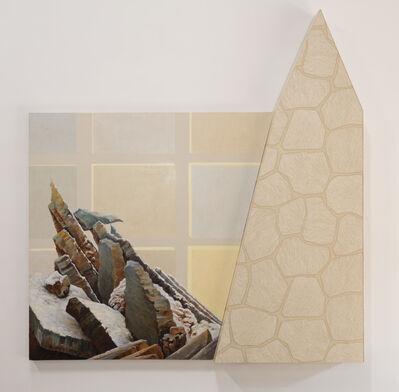 Lynn Aldrich, 'Rift (Fragment After Casper David Friedrich)', 1987