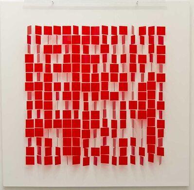Julio Le Parc, 'Mobile Rouge Sur Blanc ', 1960