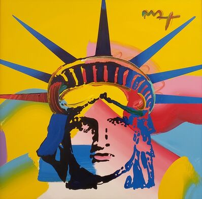 Peter Max, 'Liberty Head ', 2008