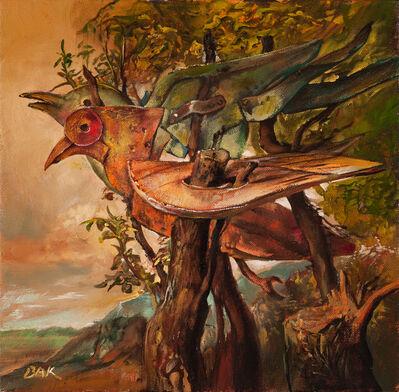Samuel Bak, 'Two Birds with One Tree', 2015