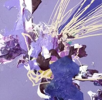 Yuni Lee, 'In Between Elements - Purple', 2016