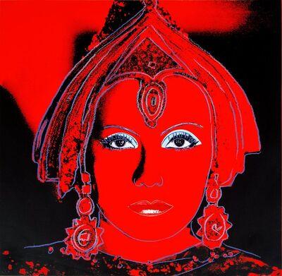 Andy Warhol, 'The Star (Greta Garbo) II.258', 1981