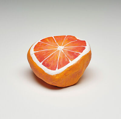 Nicolas Party, 'Blakam's stone (orange)', 2016