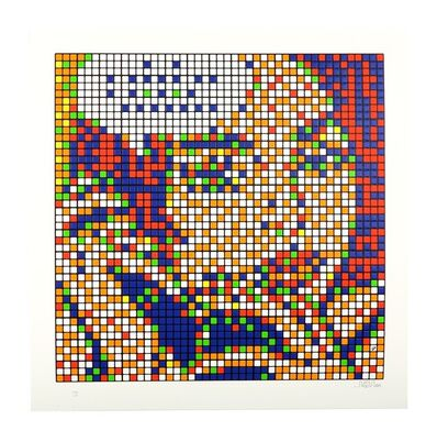Invader, 'Rubik Ohh... alright', 2011