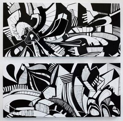 Anna Taratiel (OVNI), 'Untitled (Diptych)', 2010