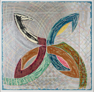 Frank Stella, 'Polar Co-ordinates for Ronnie Peterson V', 1965