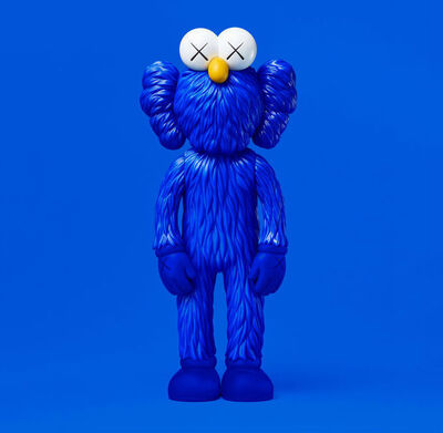 KAWS, 'BFF (Open Edition) BLUE', 2017