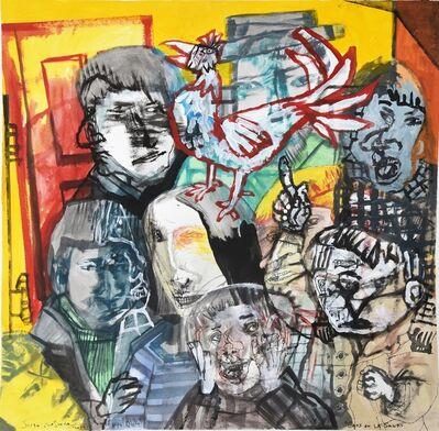 Sergio Moscona, 'Caos en la sala', 2019