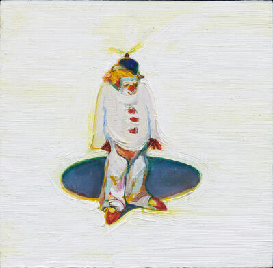 Wayne Thiebaud, 'Clown and Circle', 2015