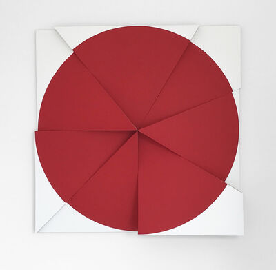 Jan Maarten Voskuil, 'Roundtrip Pointless Permanent Red', 2018