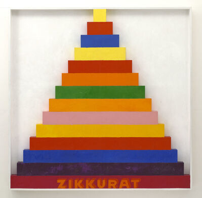 Joe Tilson, 'Zikkurat 9', 1967