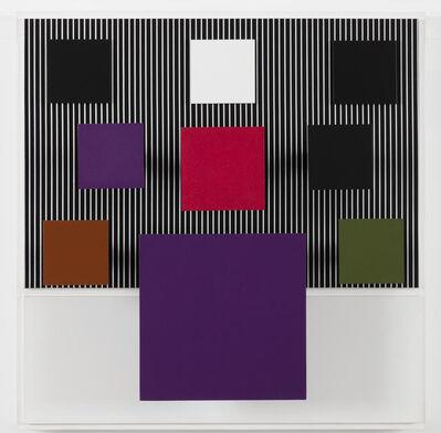 Jesús Rafael Soto, 'Le carré violet', 2001