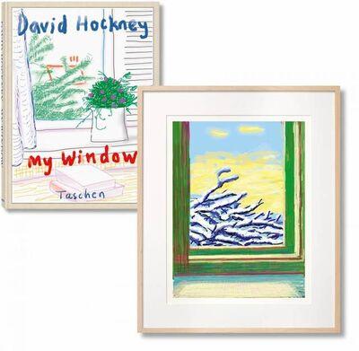 David Hockney, 'David Hockney - My Window. Art Edition (Signed)', 2019