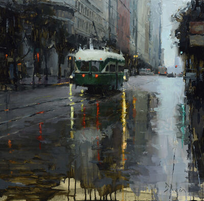 Jacob Dhein, 'Market Trolley in the Rain', 2015