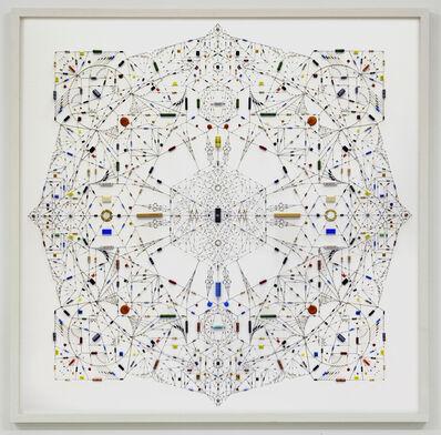 Leonardo Ulian, 'Technological mandala 30_inner chamber', 2015