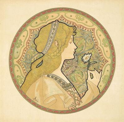 Jane Atche, 'Reverie & Meditation: 2 Decorative Panels', 1897