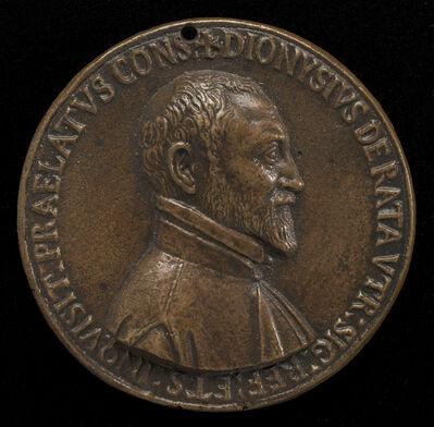 Felice Antonio Casone, 'Dionisio Ratta of Bologna, died 1597 [obverse]', 1592