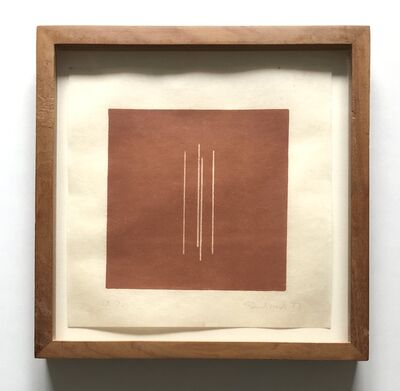 Fred Sandback, 'Untitled [from an untitled portfolio]', 1977