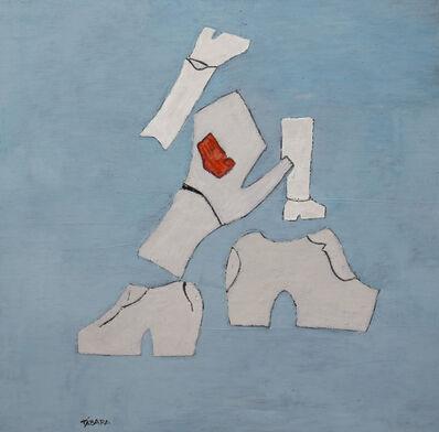 Enrique Tábara, 'Gris y Blanco', 2020
