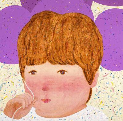 LO Chiao-Ling, 'Purple Balloons', 2017