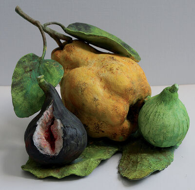Rafael Muyor, ' Quince with fig ', 2020