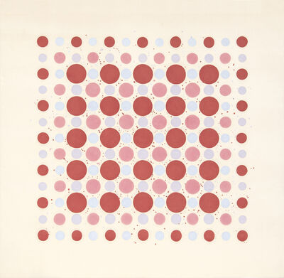 Thomas Downing, 'Red Fours', 1962